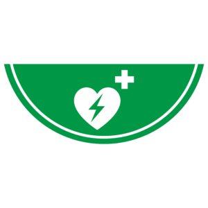 vloersticker AED