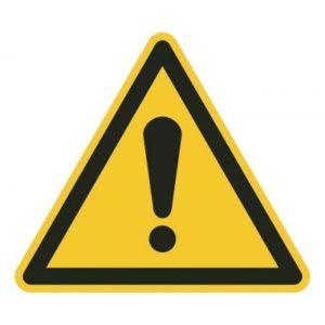 waarschuwing algemeen