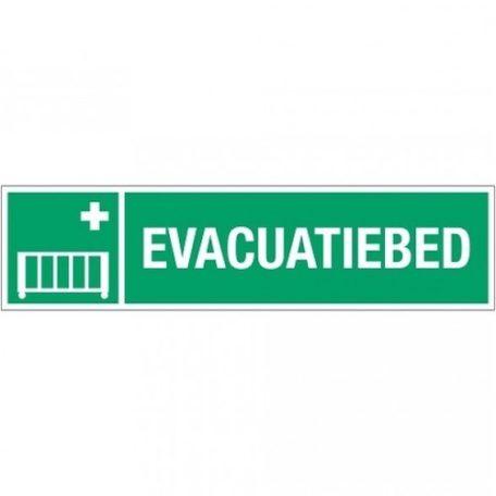 evacuatiebed+tekst