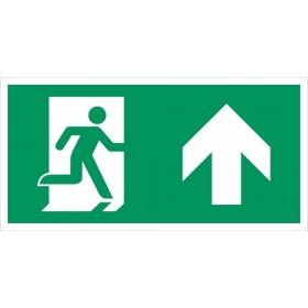 vluchtweg rechtdoor
