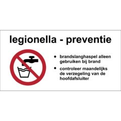 Legionella preventie