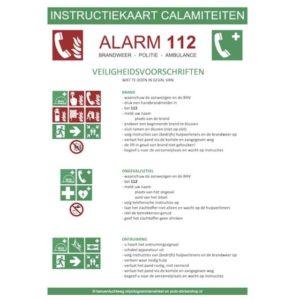 instructiekaart calamiteiten