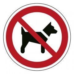 verboden voor dieren