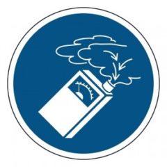 gebruik de gasdetector