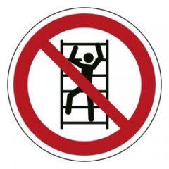 klimmen verboden