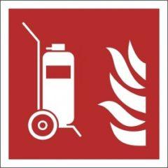 verrijdbare brandblusser ISO 70 F009