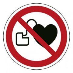 verbod voor personen met pacemaker