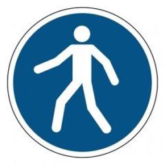verplichte doorgang voor voetgangers